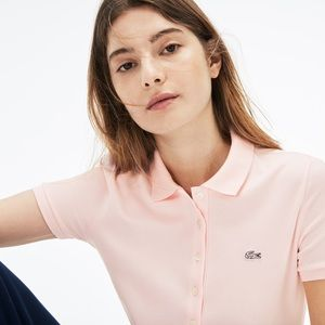LaCoste Light Pink Polo Shirt Size 38 Size S